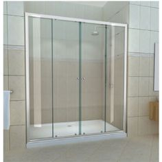 Uncover your perfect shower enclosure from the wide variety available at Bathstore. Order yours online and start creating your dream bathroom! Modern Bathroom, Small Bathroom, Bathroom Ideas, Slider Door, Shower Cubicles, Chrome Handles, Shower Screen, Kitchen Doors, Wet Rooms