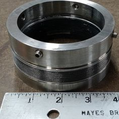 Identified and replaced this mechanical seal for a food plant.