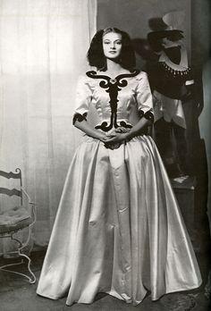 "Cristóbal Balenciaga's ""Infanta"" evening dress; c. 1939"