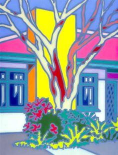 House with Native Tree 1991 - Говард Аркли