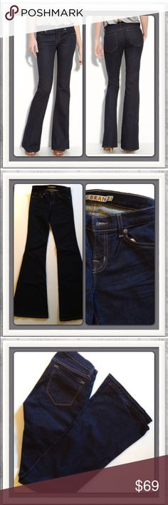 """🍾NWOT J Brand """"Babe"""" Flare Jeans. Size 29 Gorgeous flared J Brand jeans. Color is Starless. Great dark wash. J Brand Jeans Flare & Wide Leg"""