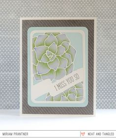 Neat and Tangled: July 2016 Release Day 1: Introducing Hello You + Succulent Journaling Card + Giveaway!