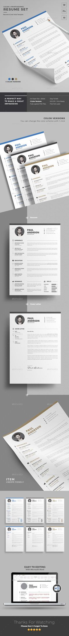 Resume Cv template, Resume cv and Adobe illustrator - http resume download