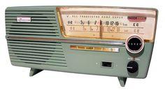 SANYO  Channel Master AM radio  Grandma had a yellow one...