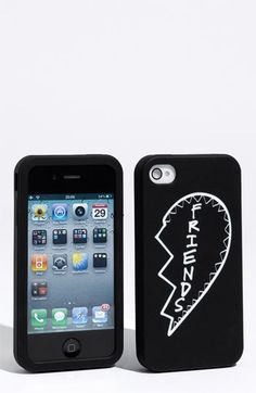 cutest iPhone cases ever! one says BEST and the other says FRIENDS !!! aw :)