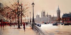 The Embankment (London) a limited edition print by Henderson Cisz