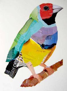 Diy Garden Projects Garden Art Projects Birds Blooms Diy Garden Projects Let Y . - Diy Garden Projects Garden Art Projects Birds Blooms Diy Garden Projects Let Y – # Check more a - Collage Kunst, Paper Collage Art, Newspaper Collage, Collage Art Mixed Media, Diy Garden Projects, Art Projects, Project Ideas, Art Carton, Collage Techniques