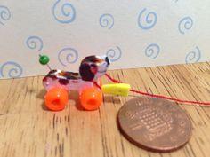 Handgemaakte poppen huis miniatuur replica vintage fisher