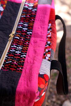 Patchwork Duffel Bag by Alyssa Lichner — Pile O' Fabric