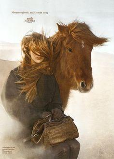 Horses / fashion   www.pegasebuzz.com | Othilia Simon for Hermès Metamorphosis, fall-winter 2014-2015