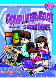 COMPUTER.Book for Starters Series [NEW!] (Nursery, Kinder, Prep) Computer Books, Starters, Comic Books, Nursery, Author, Comics, Cover, Anime, Products