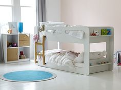 Mini Me Compact Bunk Frame: Single Bunk Bed - love how this is close to the ground!!!! Shame it is sale $1000-1200aus!