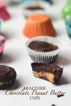 Chocolate Peanut Butter Cups-just 5 ingredients!