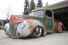 40 Classic Ford Trucks, Rat Rods, 1960s, Antique Cars, Toy, Vintage Cars, Clearance Toys, Sixties Fashion, Toys