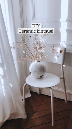 Diy Décoration, Dyi, Paris Home, Ceramics Projects, Kintsugi, Home Interior, Something To Do, Plant, Culture