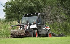 Take care of your #property with the Toolcat™ utility work machine by Bobcat Company. Combining the best features of a pickup truck, compact tractor, all-wheel steer loader and utility vehicle, this powerful machine makes taking care of your #land easier.