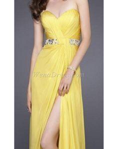 prom dress prom dresses long prom dress yellow dress