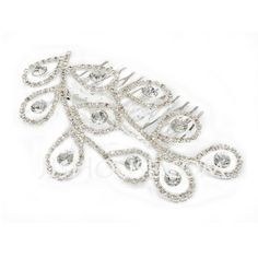 Headpieces - $10.99 - Gorgeous Crystal Hairpins (042027862) http://jjshouse.com/Gorgeous-Crystal-Hairpins-042027862-g27862