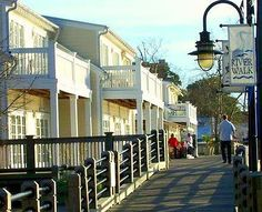River Walk in Wilmington, North Carolina.