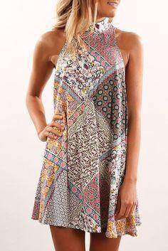 Cali Dress Multi