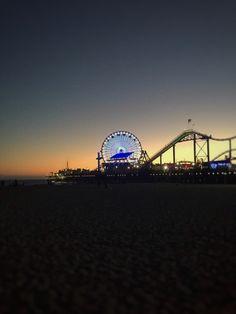 Pier Santa Monica, California... Photo: Marco André... 07/17/2016...
