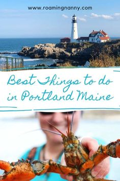 If you're road-tripping New England or exploring Maine you'll want to experience some of the best things to do in Portland Maine. Visit Portland, Downtown Portland, Portland Maine, Casco Bay, New England Travel, Travel Usa, Travel Tips, Road Trip Hacks, City Limits
