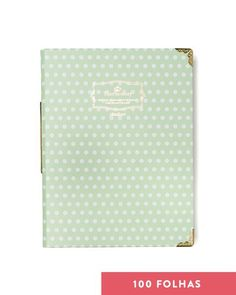 Caderno Fichário I - Sweet Gift - Coquelux - O jeito smart de comprar chic na internet