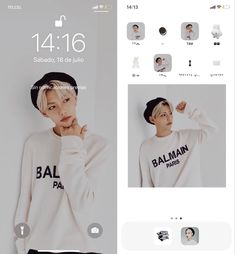 Iphone Home Screen Layout, Iphone App Layout, Iphone Design, Ios Design, Kpop Wallpaper, Iphone Android, Iphone 11, Organize Phone Apps, Kpop Phone Cases