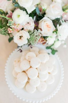 Beautifully styled baby shower