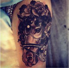 emily rose murray horse #tattoos