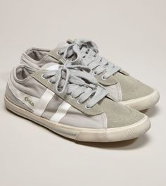 Gola Quota Canvas Sneakers on sale at American Eagle $58