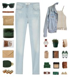 """""""gani"""" by ntyalifa ❤ liked on Polyvore featuring Miguelina, American Apparel, MANGO, New Balance, Muuto, The Horse, Astier de Villatte, NARS Cosmetics, Christy and Williams-Sonoma"""