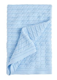 Super soft and extra snuggly, our precious cable knit blankets are necessities for any little one. These cable knit blankets are perfect baby gifts! 100% cotton 30in x 40in Knitting Patterns Free, Knit Patterns, Baby Knitting, Blanket Patterns, Cable Knit Blankets, Knitted Baby Blankets, Blue Baby Blanket, Free Baby Stuff, Baby Gifts