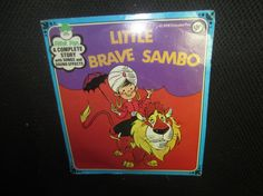 Vintage 1960s 1970s Little Brave Sambo Childrens by kookykitsch, $15.00