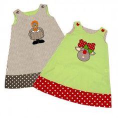 Turkey ~ Reindeer Reversible A-line Dress