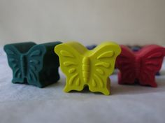 Butterfly Crayon set of 12