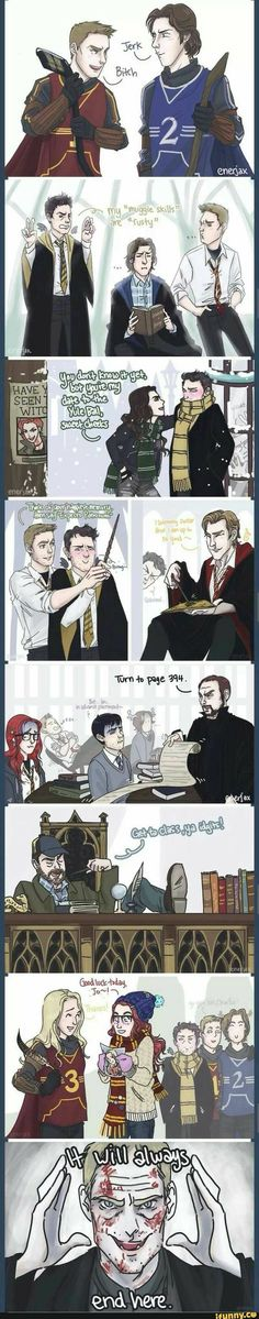 Supernatural and Harry Potter crossover <---- Wait does this mean Sam is Harry Potter?