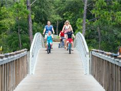 Does your family love exploring on bikes? These resorts make it easy (and sometimes free) to get around on two wheels.