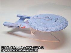 U.S.S. Enterprise NCC-1701-D papercraft