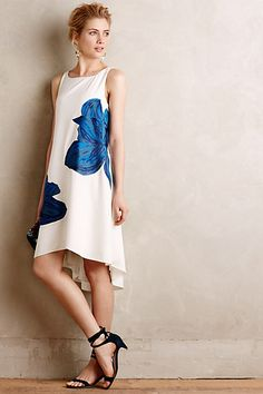 Embroidered Bluebell Dress #anthropologie, Style No. 4130342381717