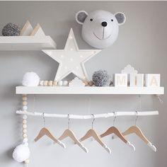 Kids' Decoration Trends: Ornamental Light up Letters - Kinderzimmer Ideen Baby Bedroom, Baby Boy Rooms, Nursery Room, Kids Bedroom, Nursery Decor, Room Decor, Baby Decor, Kids Decor, Ideas Habitaciones