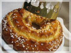 Le Gâteau Des Rois de Christophe FELDER Patisserie Christophe Felder, Croissant, Bagel, Doughnut, Bread Recipes, Biscuits, Muffin, Voici, Gluten