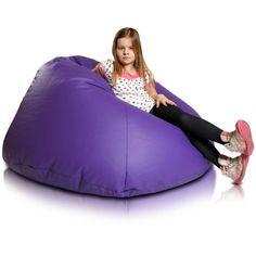 Relax XL babzsákfotel - lila Bean Bag Chair, Relax, Furniture, Big, Home Decor, Products, Decoration Home, Room Decor, Beanbag Chair
