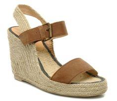 Sandales compensées Eden