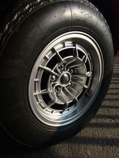 Campagnolo alloy wheel. Ferrari Dino 246 GTS Auto Wheels, Wagon Wheels, Car Rims, Rims For Cars, Wheel Of Fortune, Alloy Wheel, Cool Cars, Ferrari, Cool Photos