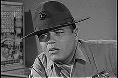 Frank Sutton as Sgt. Carter in Gomer Pyle USMC episode