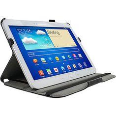 rooCASE Samsung Galaxy Tab 3 10.1: Slim-Fit Folio Case w/ Stylus