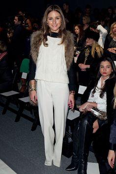 Olivia Palermo at Rachel Zoe