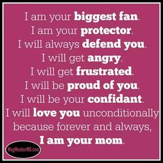 for ever and ever your mommy ill be i love my girls
