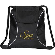 Bumblebee Drawstring Cinch Backpack | Custom Bags | 2.63 Ea.